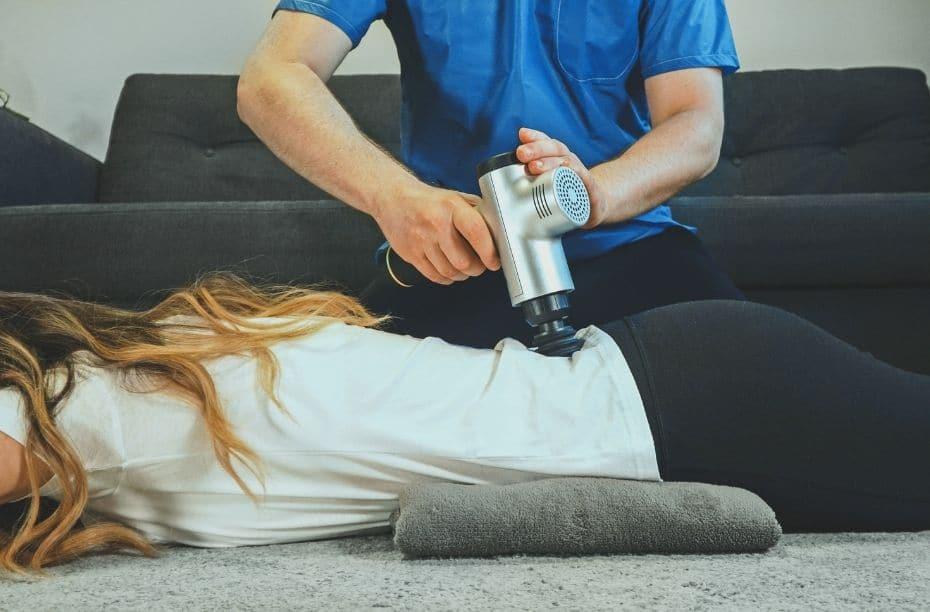 Massage gun cellulitis