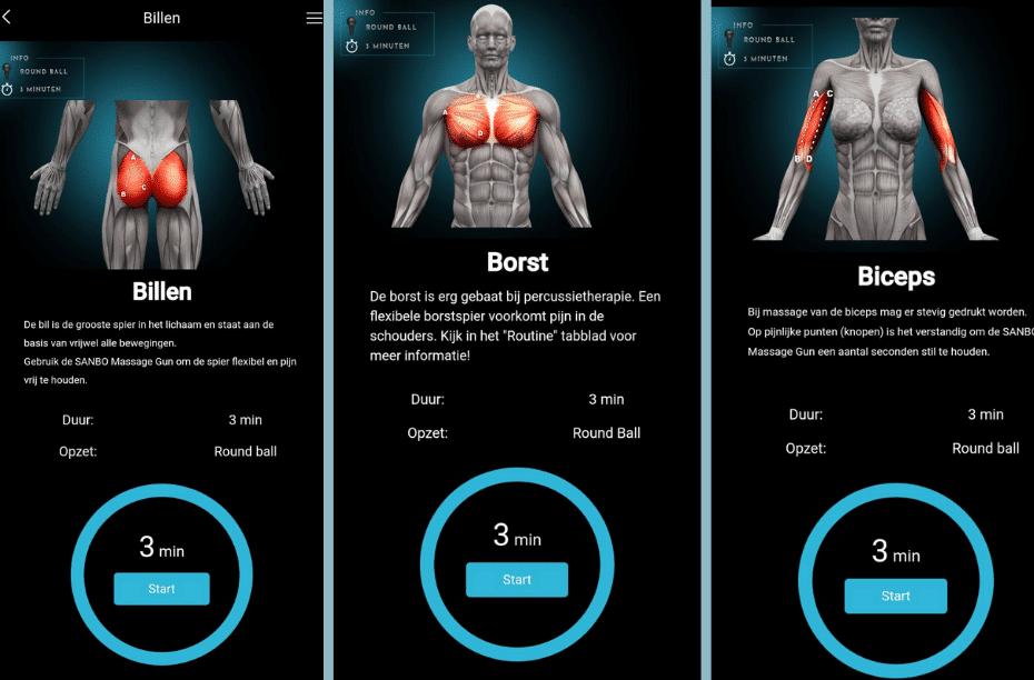 Massage-pistool-app