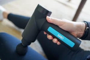 Sanbo Massage Gun - Sport en Relax Massage - Professioneel - Inclusief APP review mening massagegunreview